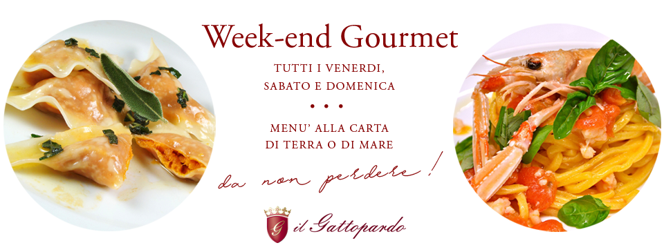 Week end Gourmet
